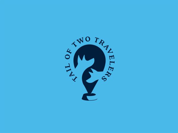Creative Negative Space Logo Designs - 48