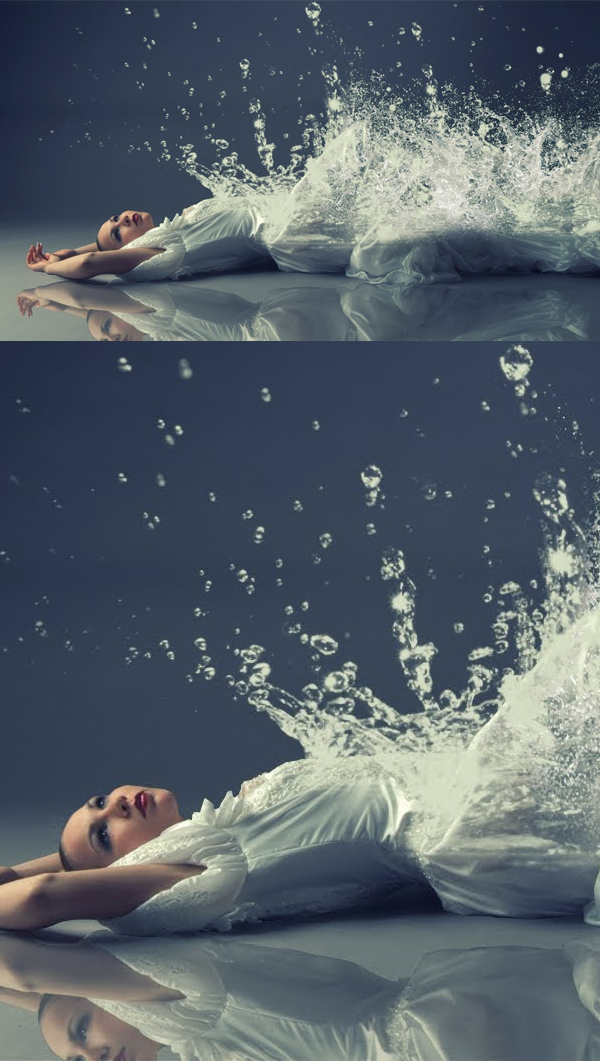 How to Create Water Splash Girl Photo Manipulation in Photoshop
