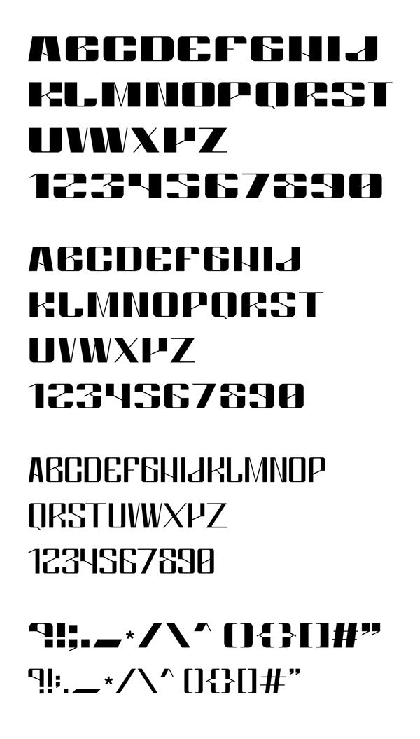 Artemis Font Letters