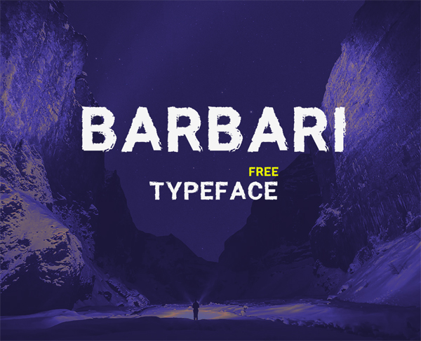 Barbari Free Font