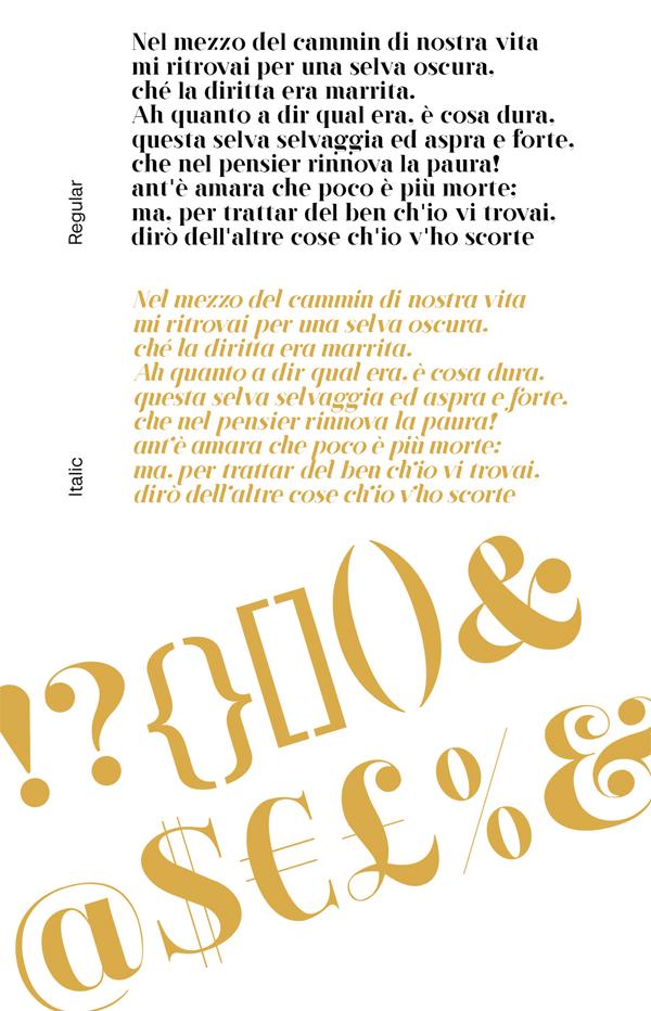 Pisa Font Letters