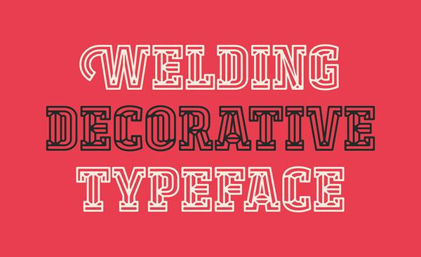 Welding Free Font
