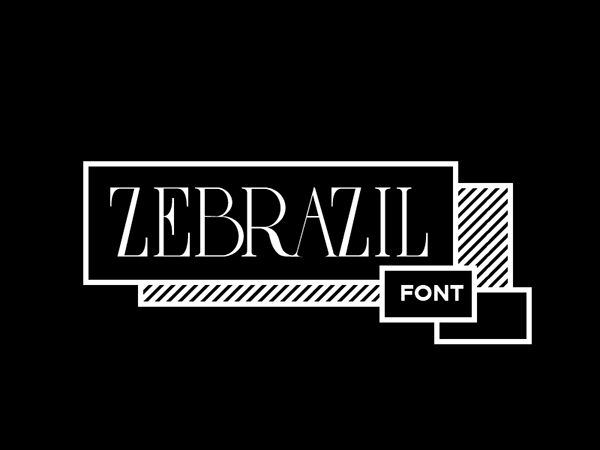 Zebrazil Free Font