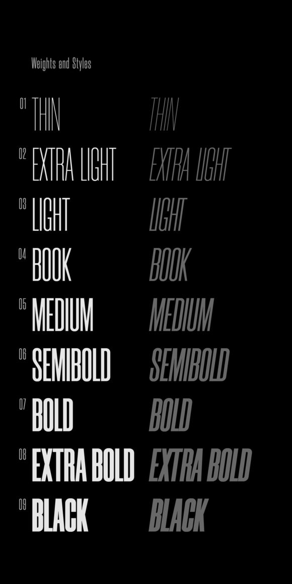 Morganite font sample 4