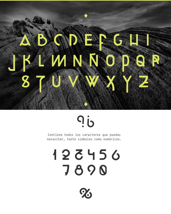 Kuban Font Letters