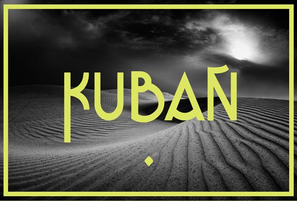 Kuban Free Font