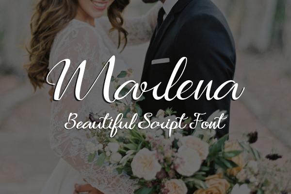 Marlena Free Font
