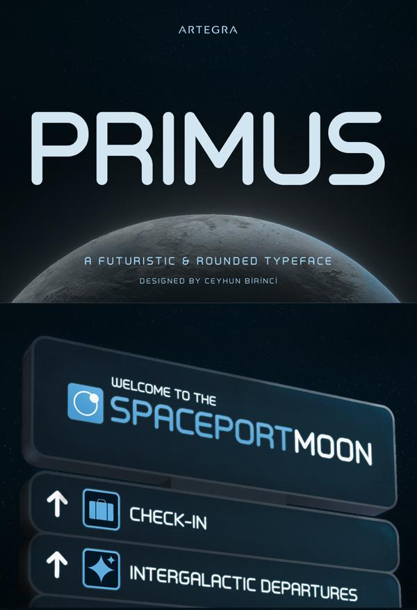 Primus Free Font