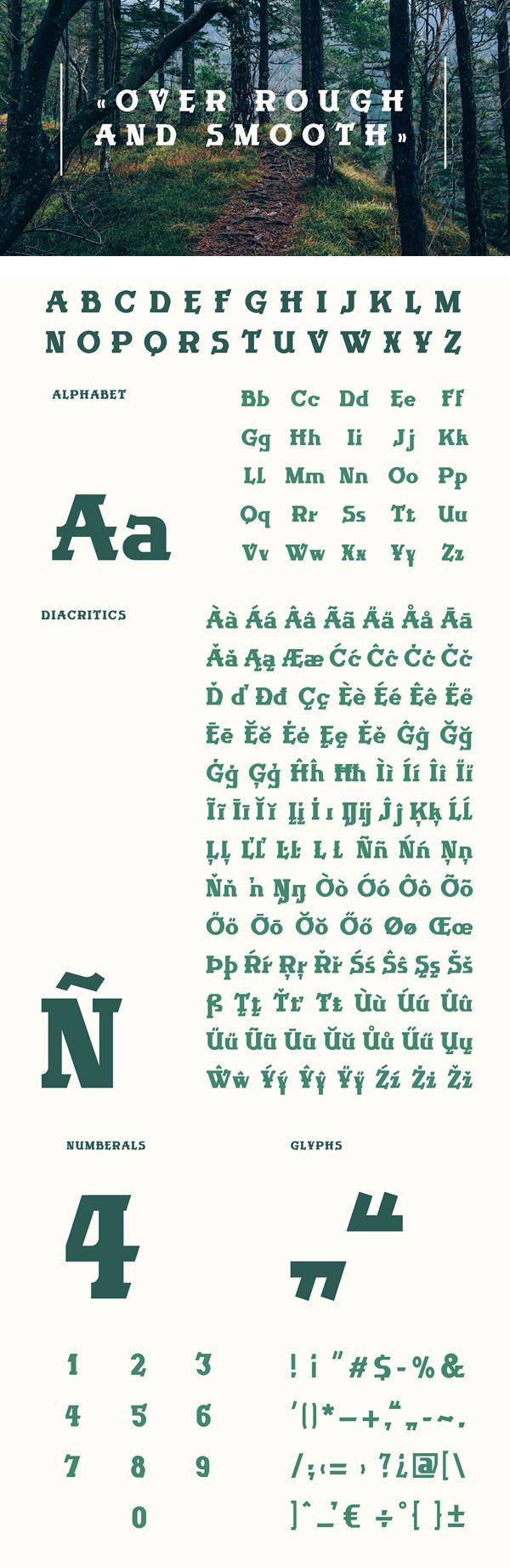 Wanderlust Font Letters