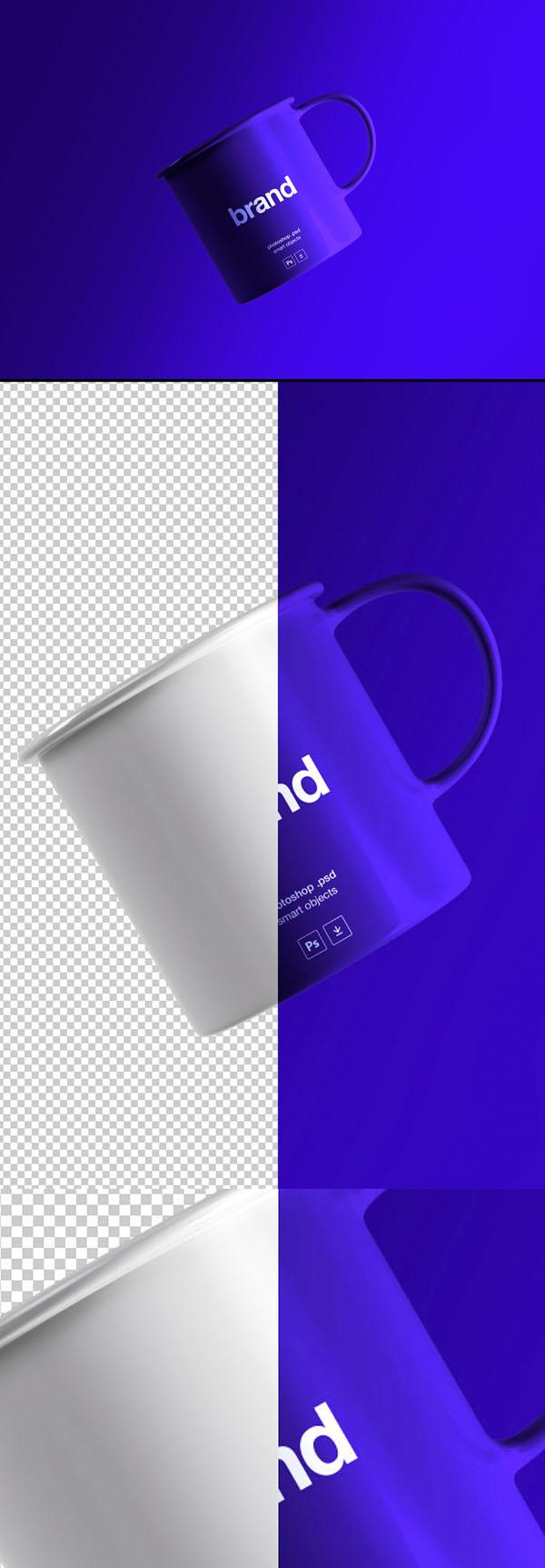 Beautiful Free Tea Cup Mockup PSD