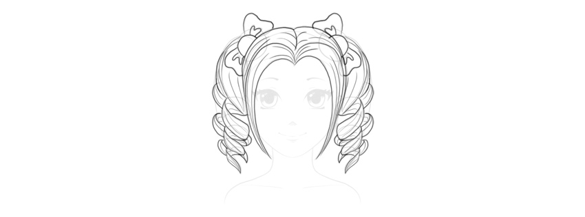 How To Draw Pretty Anime Hair