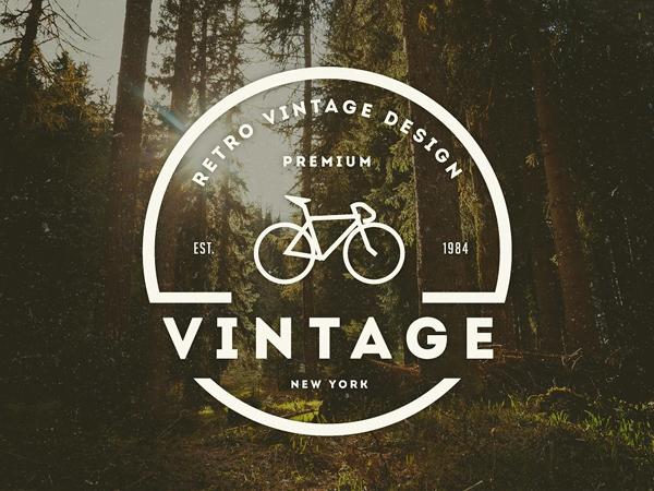 Vintage Logo / Retro Badge by Design District
