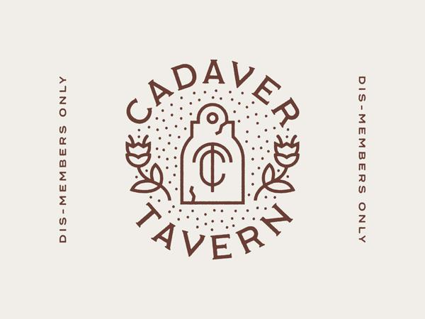 Cadaver Tavern Badge by Kevin Fluegel