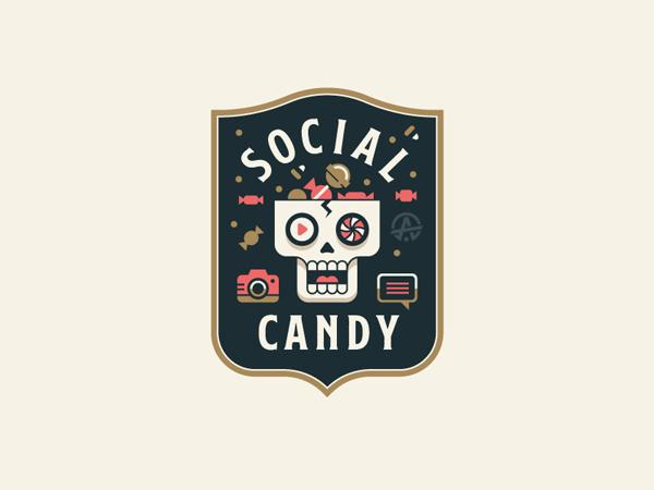 Social Candy Badge by Trey Ingram