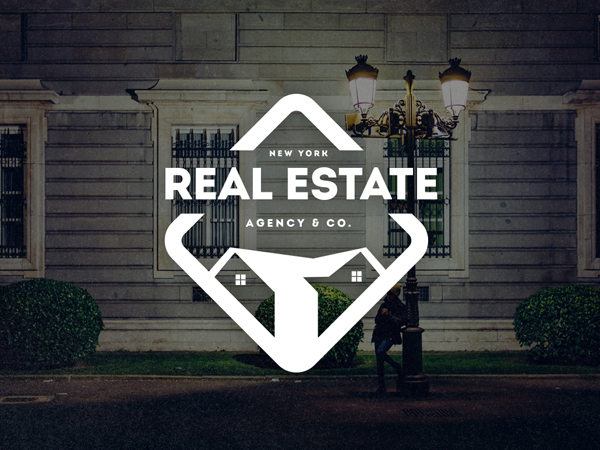 Real Estate Logo / Retro Badge
