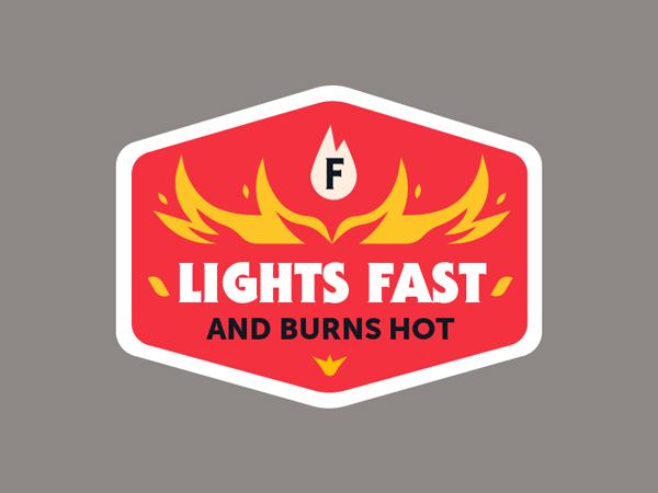 Lights Fast Badge by Jairus