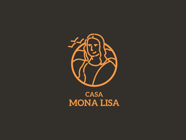 Mona Lisa Badge by Jose E. Cadenas