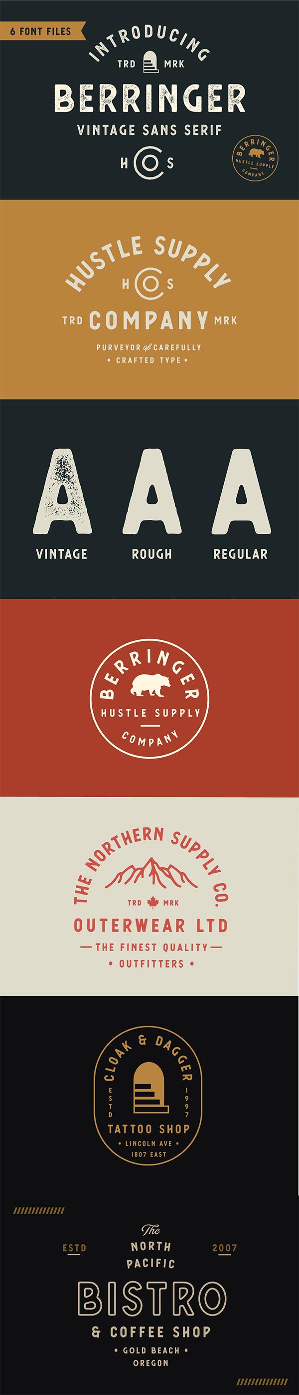 Berringer - Vintage Type Family