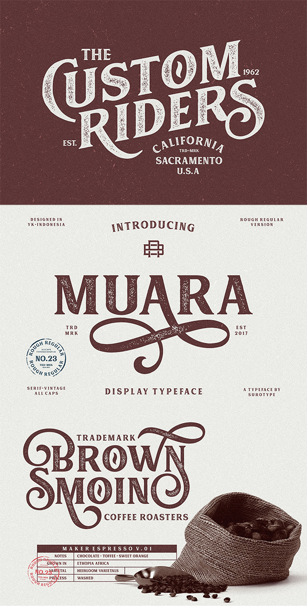 Musra Rough Font
