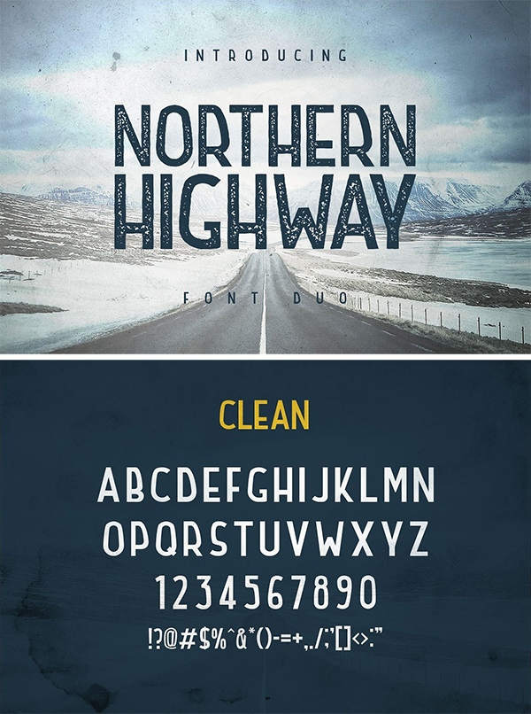 Northern Highway - Font Duo