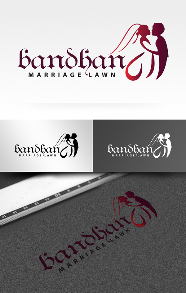 Luxury Wedding Logo Template Preview - 1