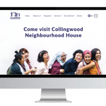 Collingwood Neighbourhood House: UI responsive design