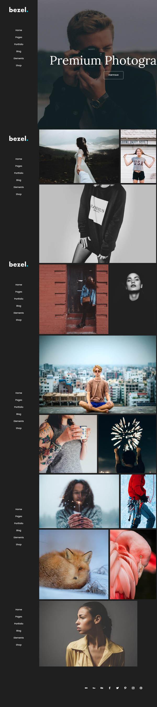 Bezel – Creative Multi-Purpose WordPress Theme