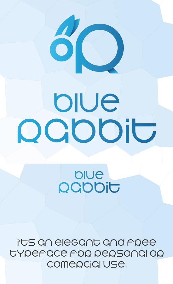 Blue Rabbit Free Font