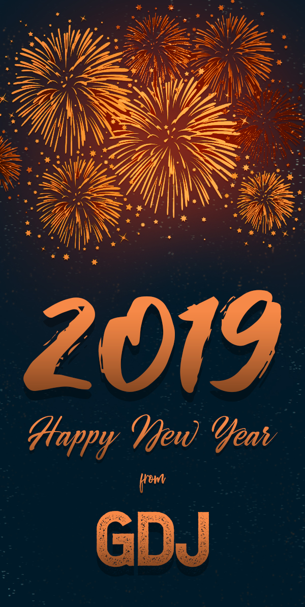 Happy New Year 2019 From GDJ