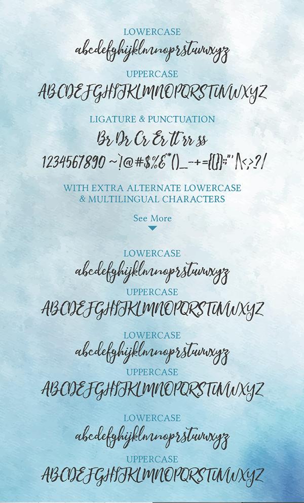 Jane Austin Font Letters