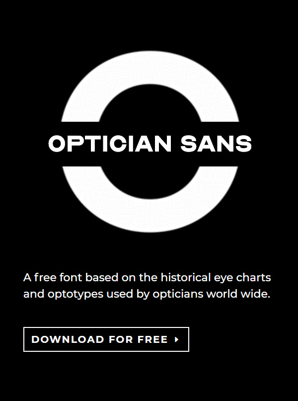 OPTICIAN SANS Free Font