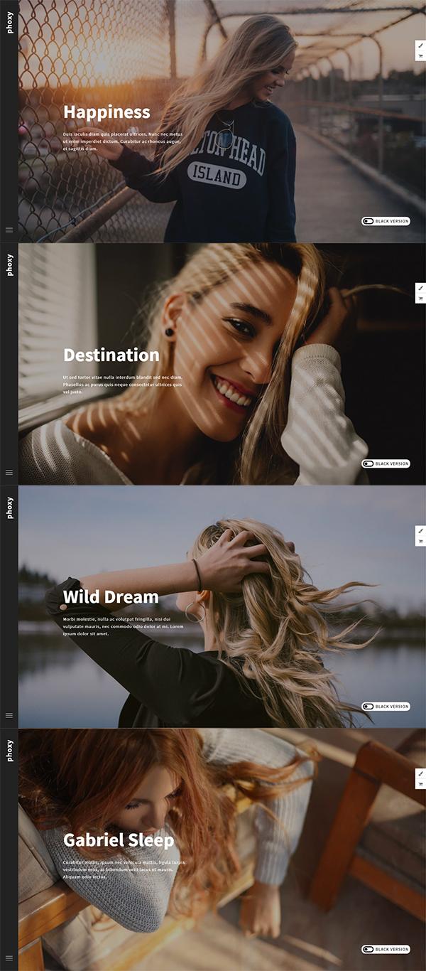 Phoxy - Photography WordPress