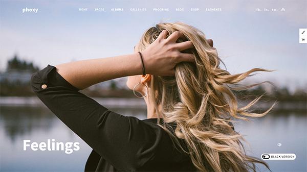 Photography Phoxy - Photography WordPress for photography