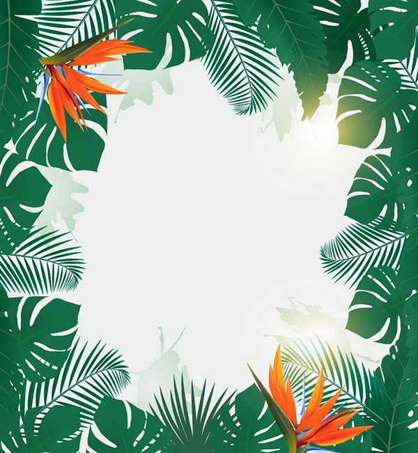 How to Make a Tropical Party Flyer Background in Adobe Illustrator