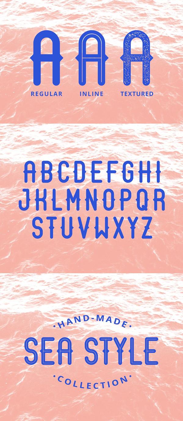 Arcane Sans Font Letters
