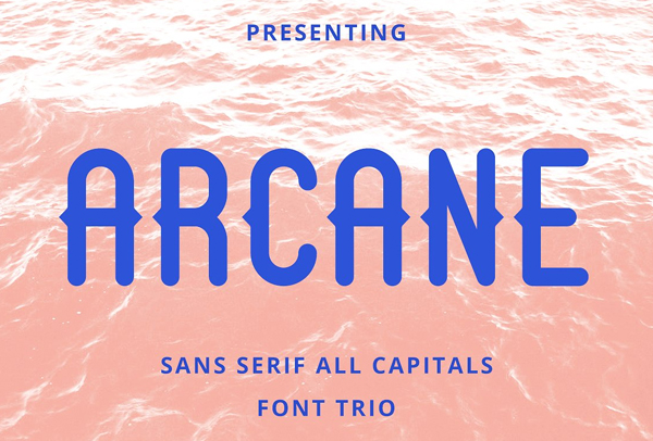 Arcane Sans Free Font