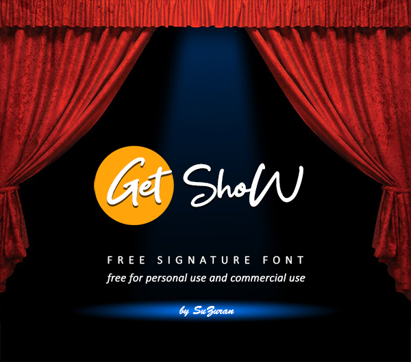 Get Show Free Font