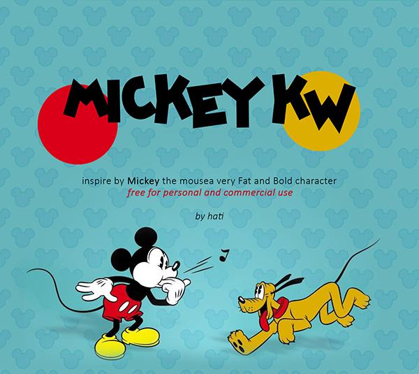 Mickey kw Free Font