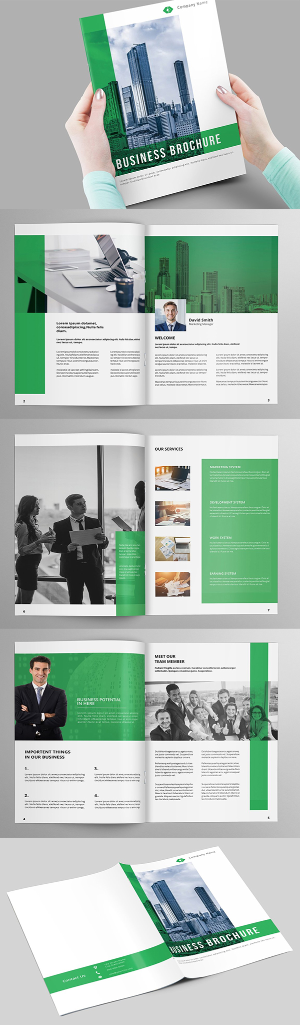 Elegant Business Brochure Template