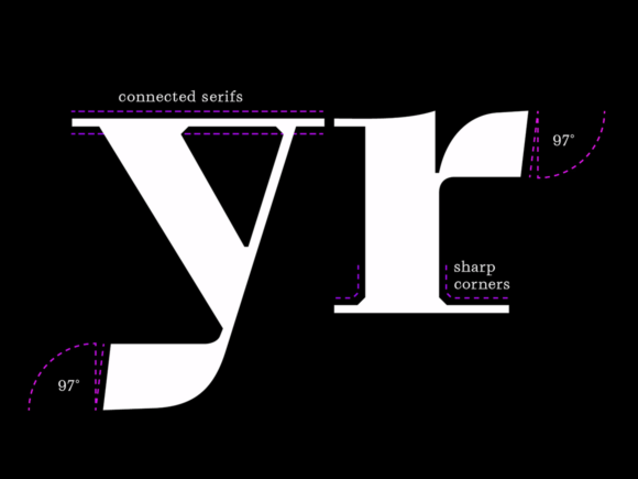 Grafier: A modern brutalist variable font