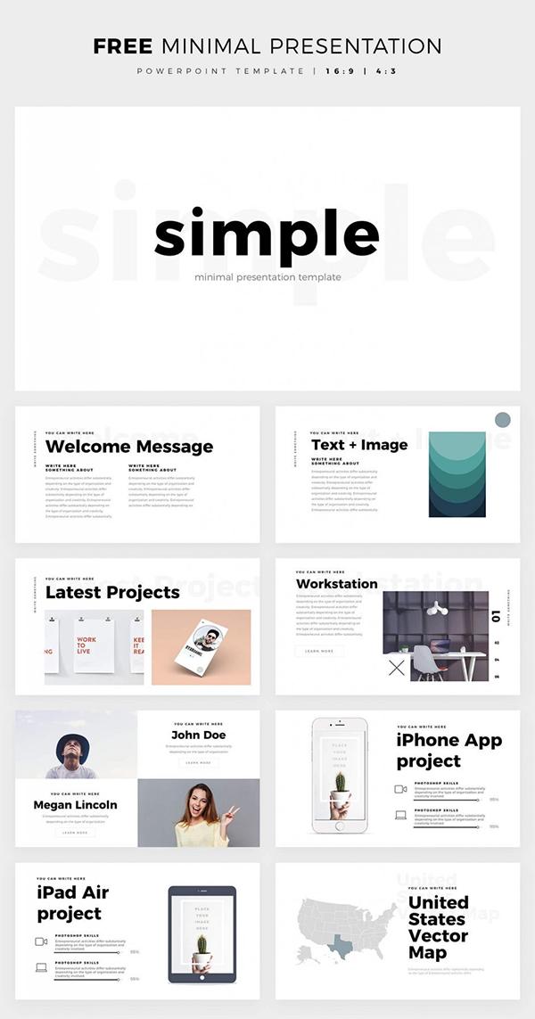 Minimal Presentation Slides