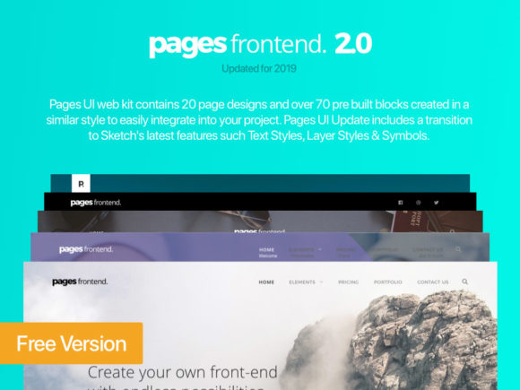 Pages UI Web Kit (2019 update)