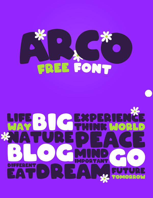 ARCO Free Font