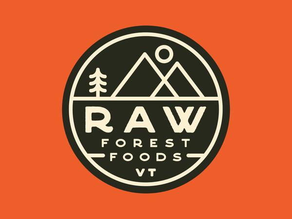 Raw Forest Foods Sticker
