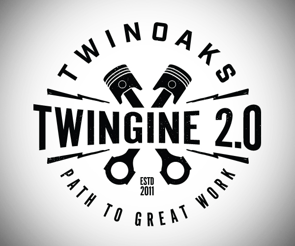 Twingine Logo Design
