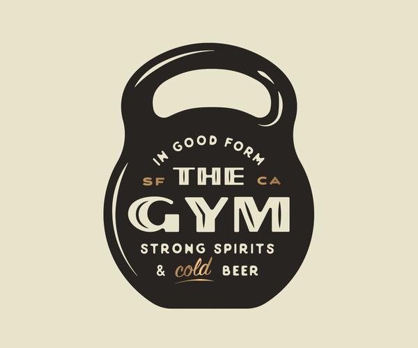 The Gym Badge Logo