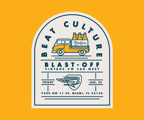 Beat Culture Badge Logo