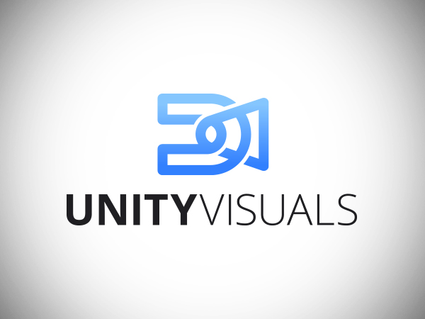 Unity Visuals Logo Design