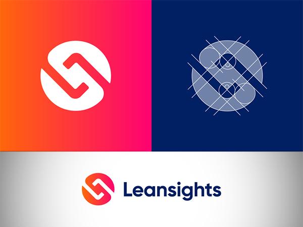 Leansights Logo Design