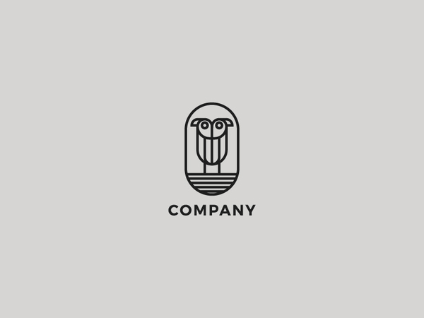 Bird Or Owl Logo Design